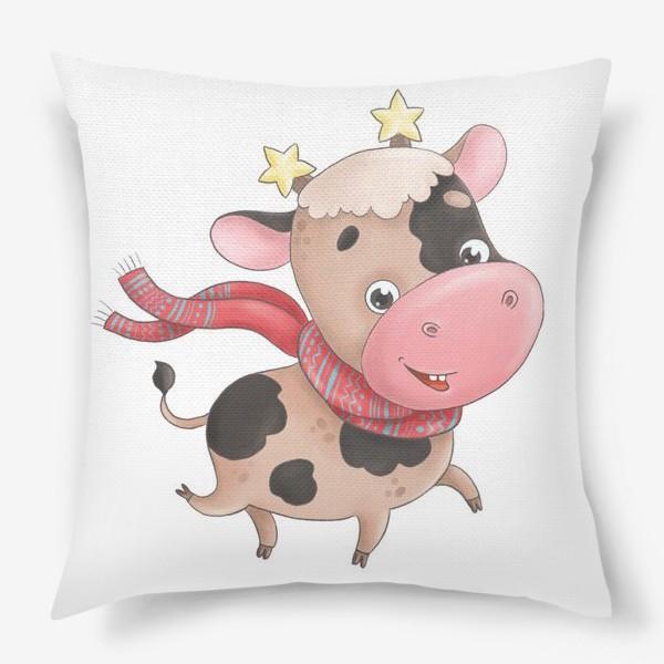 Подушка «Веселый бычок»