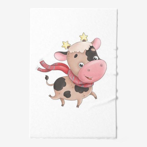 Полотенце «Веселый бычок»