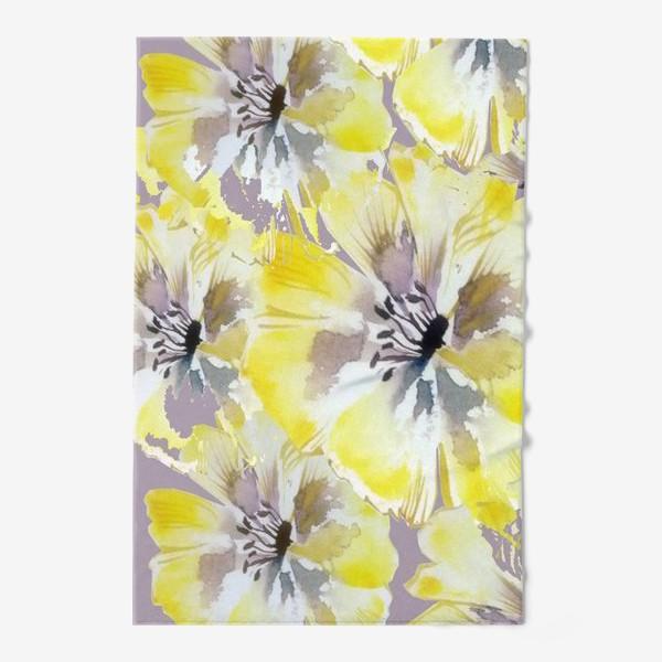 Полотенце «Желтые цветы»