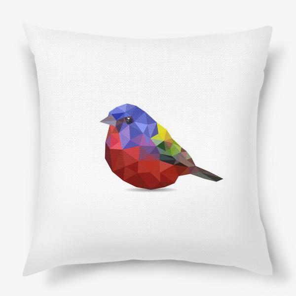 Подушка «Птица»