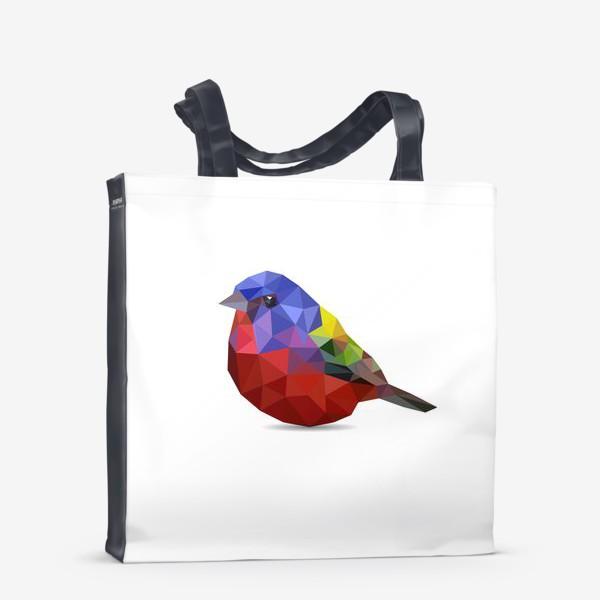 Сумка-шоппер «Птица»