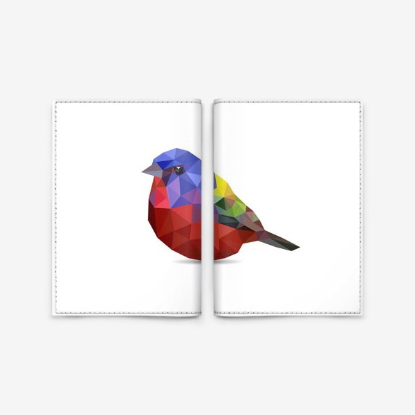 Обложка для паспорта «Птица»