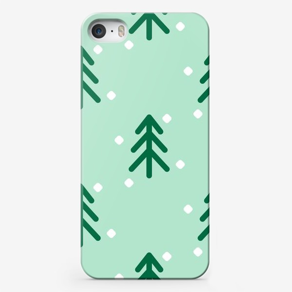 Чехол iPhone «Ёлочки паттерн»