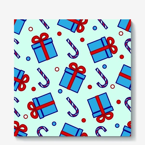 Холст «Подарки и леденцы»