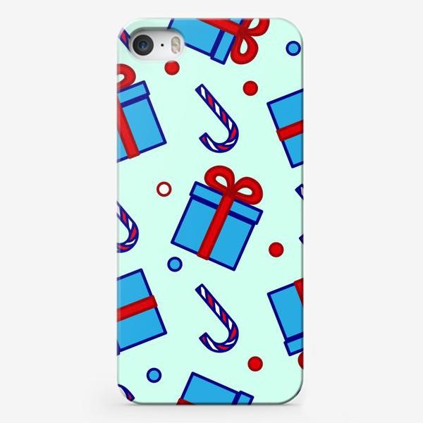 Чехол iPhone «Подарки и леденцы»