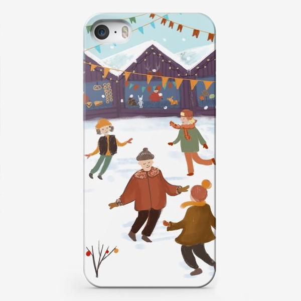 Чехол iPhone «Новогодняя ярмарка»
