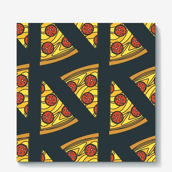 Холст «Пицца пеперони»