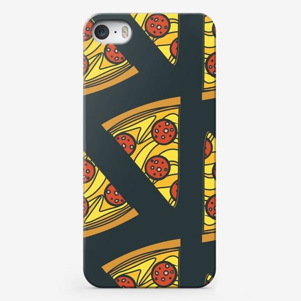 Чехол iPhone «Пицца пеперони»