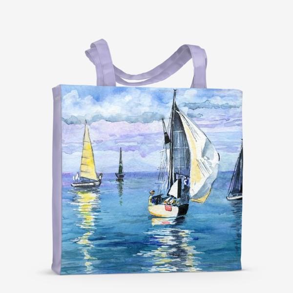 Сумка-шоппер «Море. Яхты»