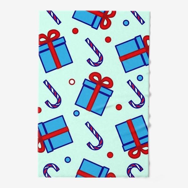 Полотенце «Подарки и леденцы»