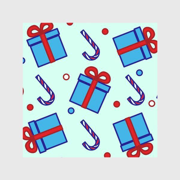 Скатерть «Подарки и леденцы»