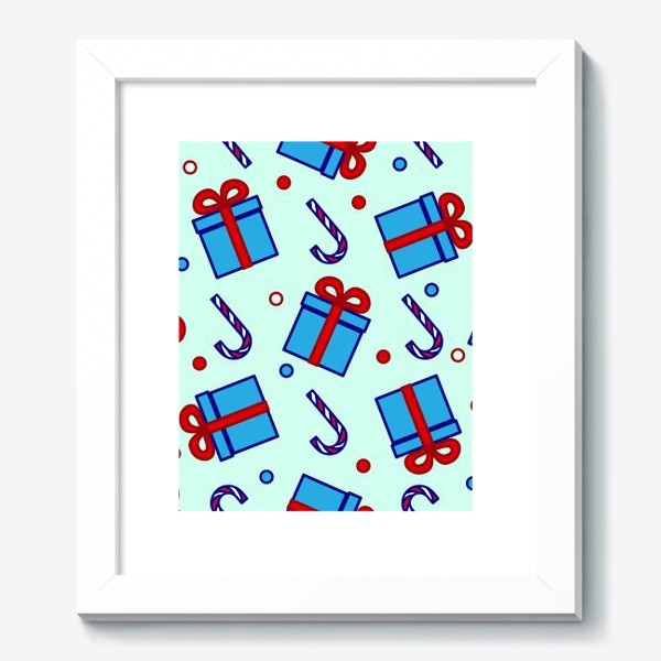 Картина «Подарки и леденцы»