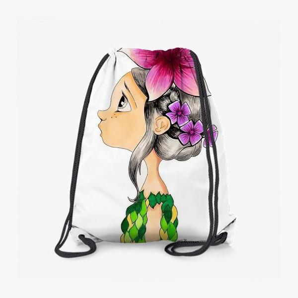 Рюкзак «Девочка и бабочка»