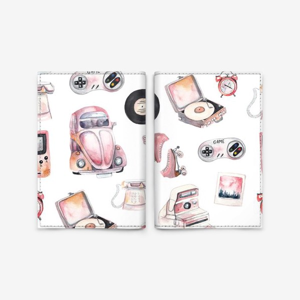 Обложка для паспорта «Ретро»