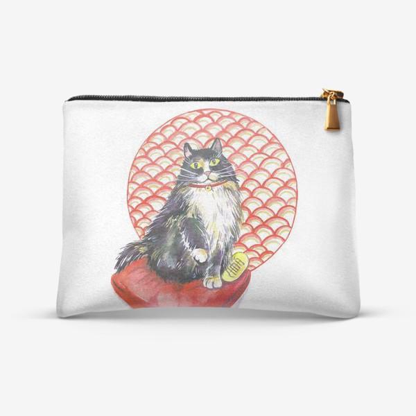 Косметичка «Кот удачи. Манэки нэко»