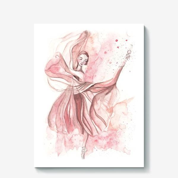 Холст «Балерина»
