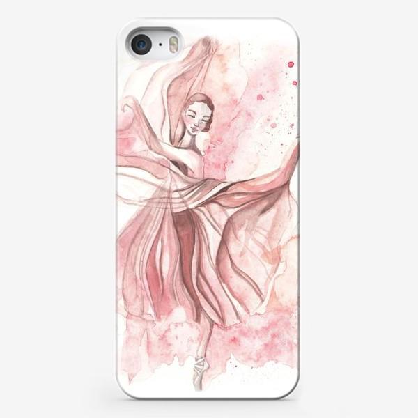 Чехол iPhone «Балерина»