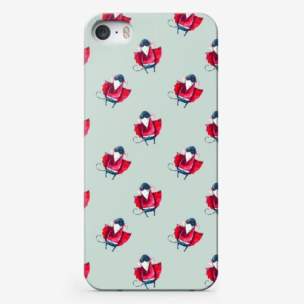Чехол iPhone «Мыши летят. Мышьмен»