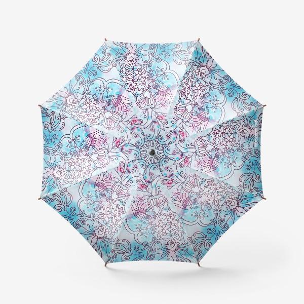 Зонт «Зима узор»