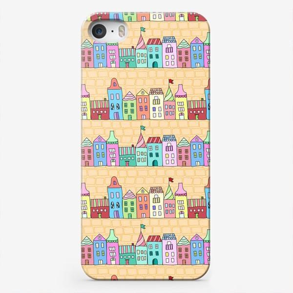 Чехол iPhone «Городские улочки»
