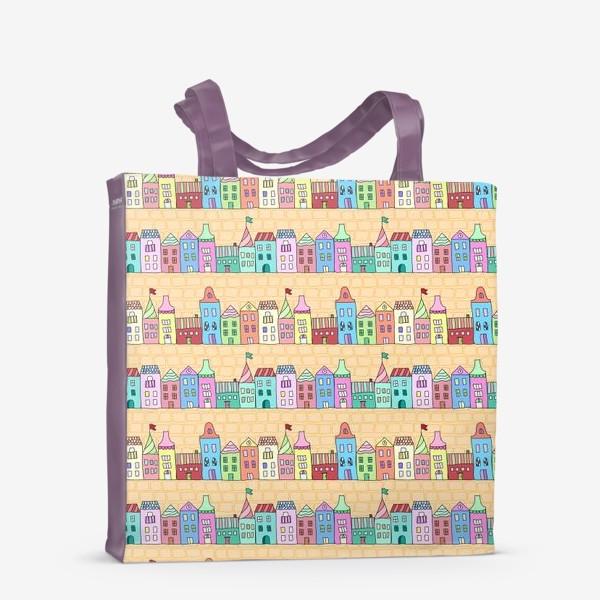 Сумка-шоппер «Городские улочки»