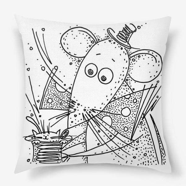 Подушка «Фокус мышки»