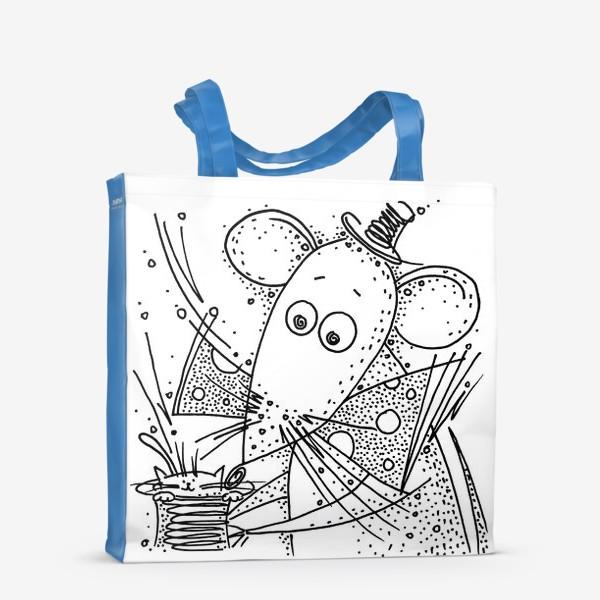 Сумка-шоппер «Фокус мышки»