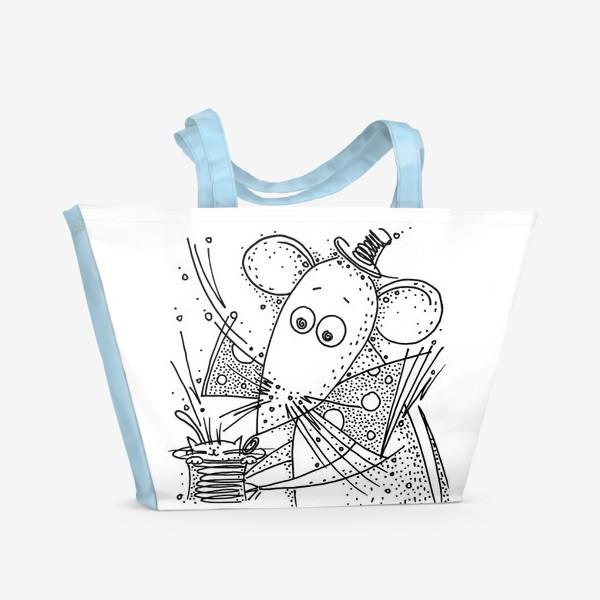 Пляжная сумка «Фокус мышки»