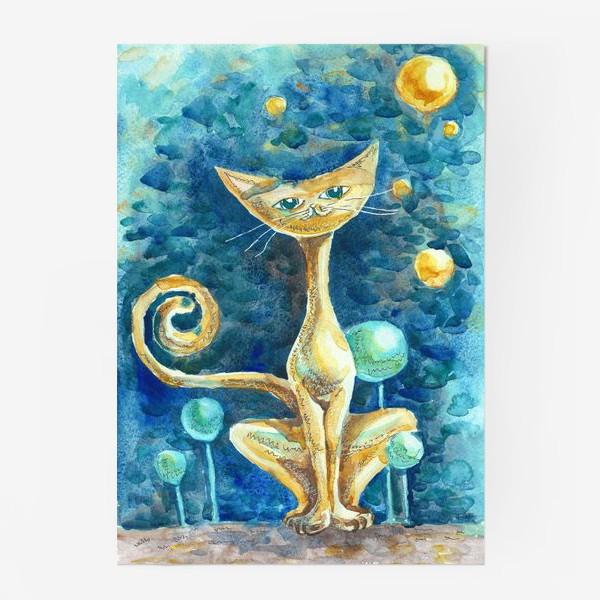 Постер «Лунный Кот»