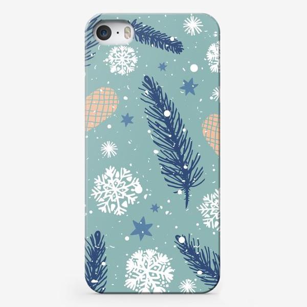 Чехол iPhone «Нежное Рождество»