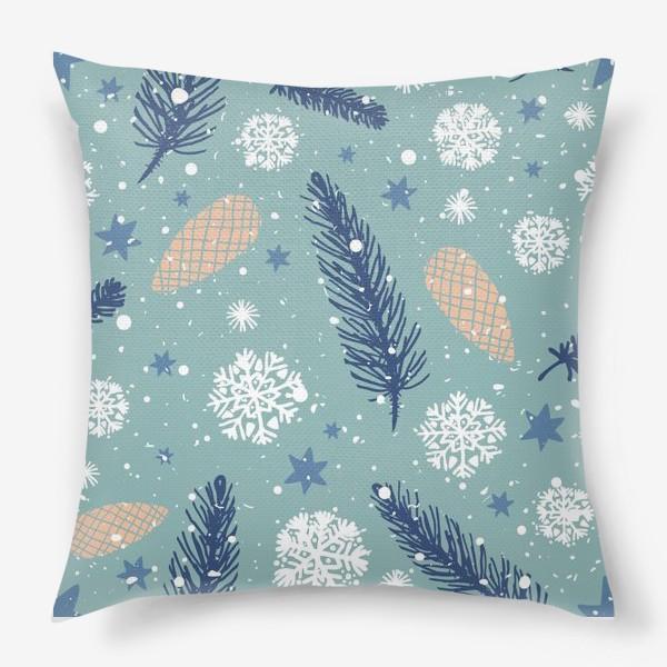 Подушка «Нежное Рождество»