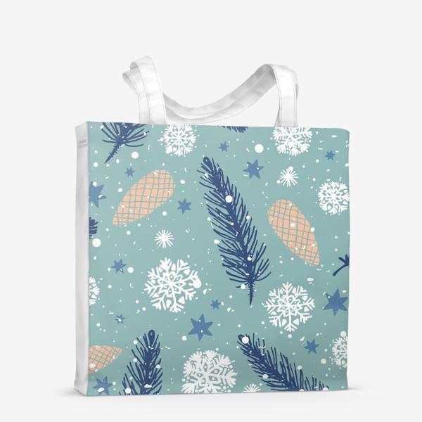 Сумка-шоппер «Нежное Рождество»