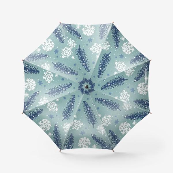 Зонт «Нежное Рождество»