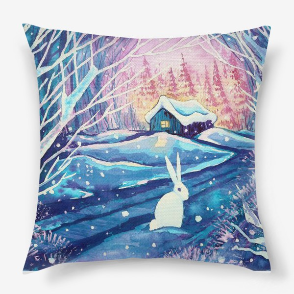 Подушка «Зимняя сказка»
