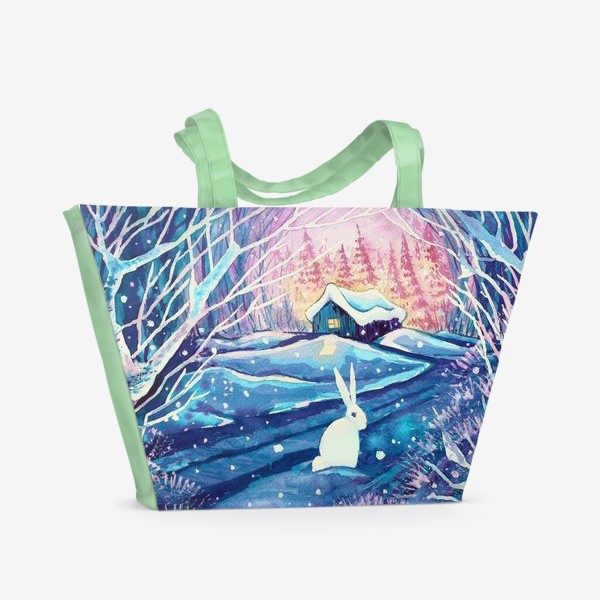 Пляжная сумка «Зимняя сказка»