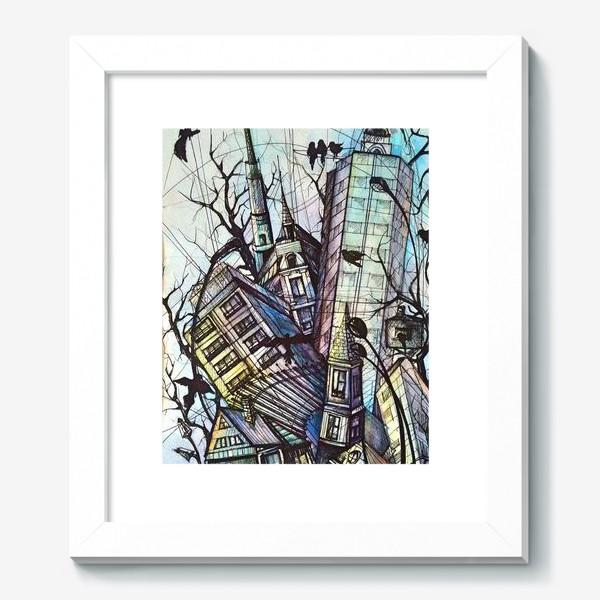 Картина «Ритмы города»