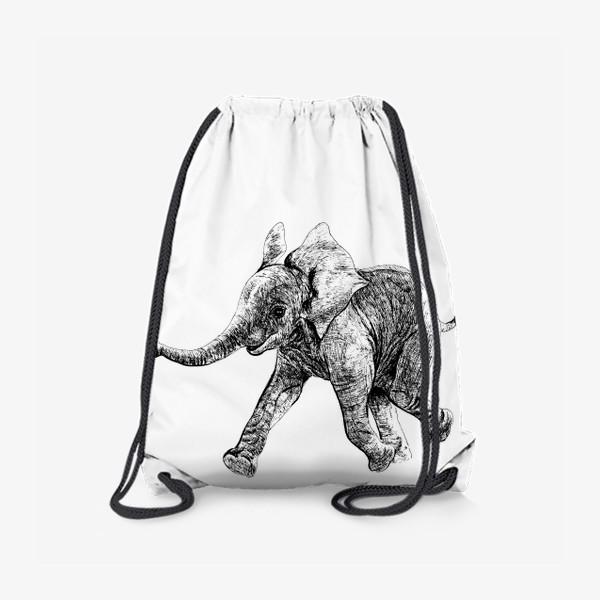 Рюкзак «слон»