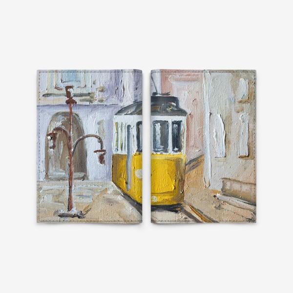 Обложка для паспорта «Трамвай №28»