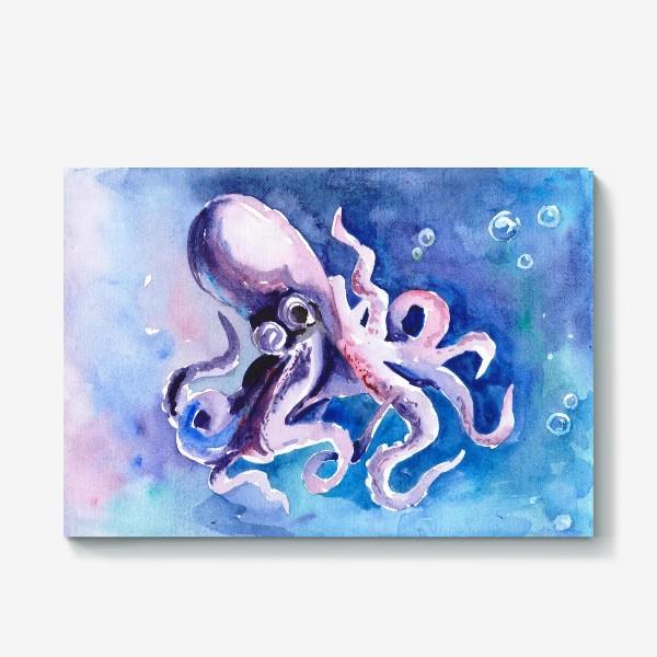 Холст «Космический осьминог»