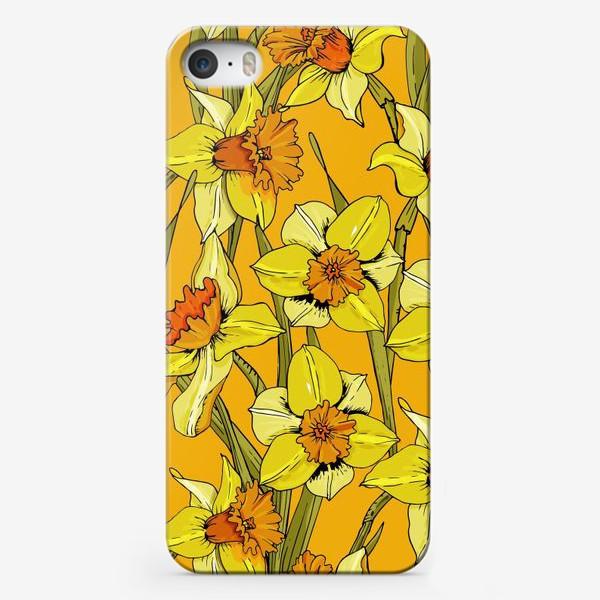 Чехол iPhone «Нарциссы пасха желтые»