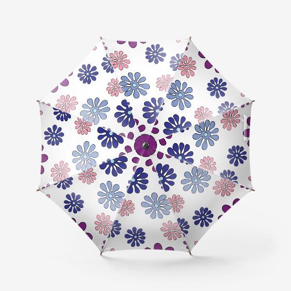 Зонт «цветы»