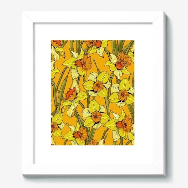 Картина «Нарциссы пасха желтые»