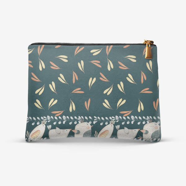 Косметичка «птицы и травы»