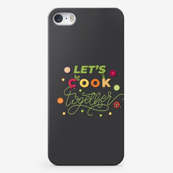 Чехол iPhone «let's cook together»