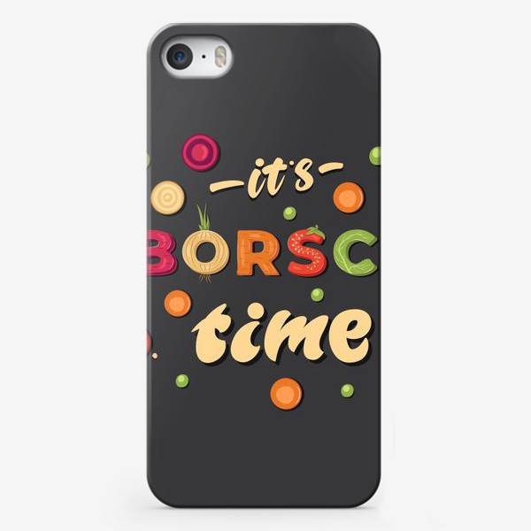 Чехол iPhone «it's borsch time»