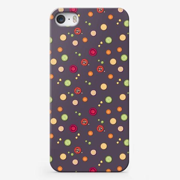 Чехол iPhone «vegetable pattern»