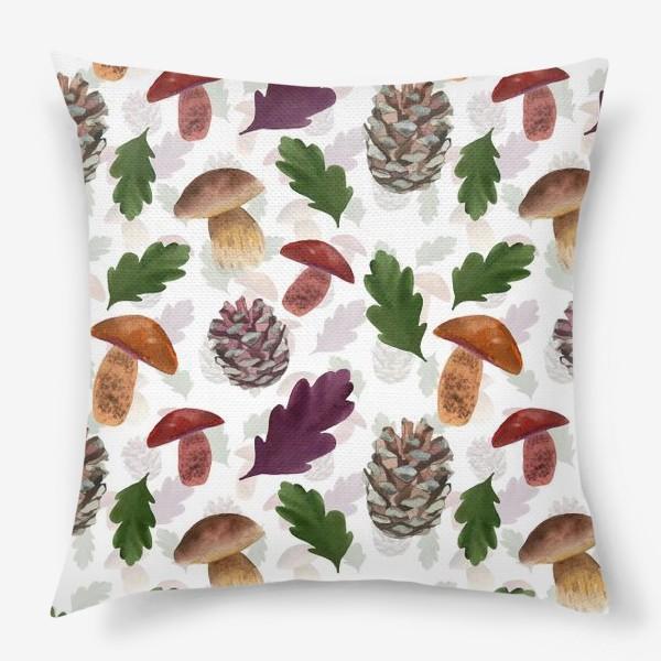 Подушка «В лесах»