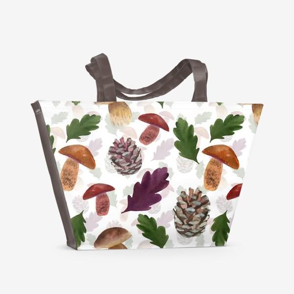 Пляжная сумка «В лесах»