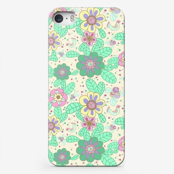 Чехол iPhone «Цветочный рисунок»