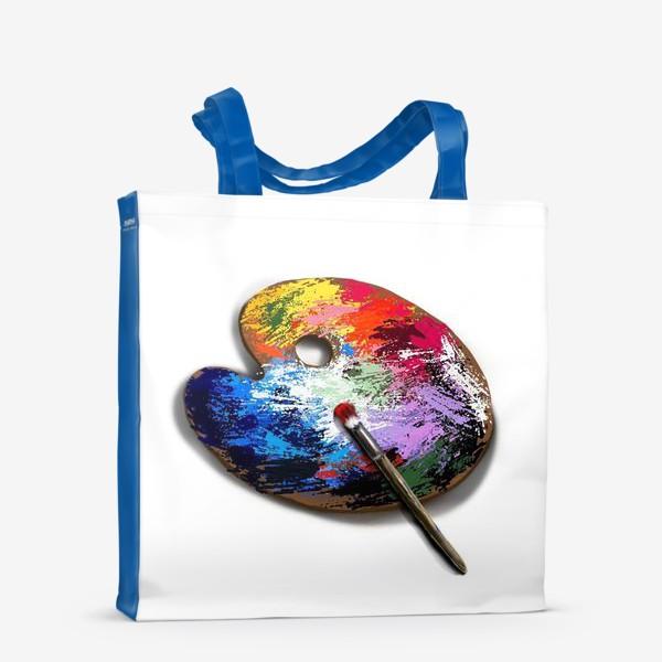 Сумка-шоппер «Палитра с красками»